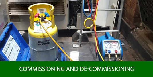 Air Conditioning Commissioning and De-commissioning Cannock